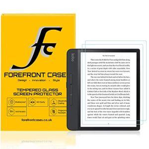 Forefront Cases Protection écran pour Kobo Forma, Verre Trempé – 2 Unité – Kobo Forma Protection écran – Dureté 9H, Résiste aux Rayures, Ultra Clair