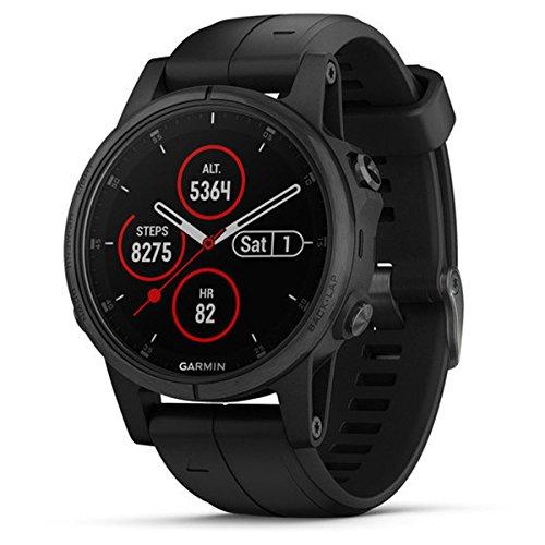 Garmin Fenix 5S Plus Montre de Sport Bluetooth 240 x 240 Pixels, Noir