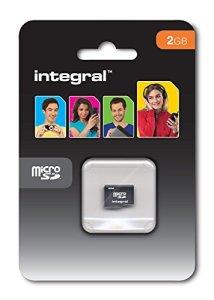 Integral INMSD2GNA carte micro SD 2GB