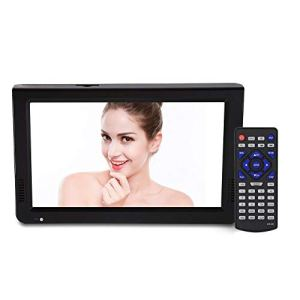 JULYKAI Super Slim Fashion Design Digital TV, 10 Pouces HD Couleur TFT LED TV, Support PVR, pour Les Voyages