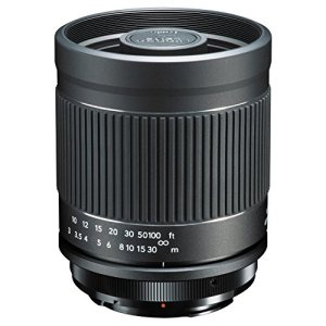 KENKO for telephoto Lens Mirror Lens 400mm F8 NII Canon EF Manual Focus Full-Size corresponding KF-M400CEFNII