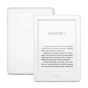 Kindle, maintenant avec un éclairage frontal intégré – Avec offres spéciales, Blanc