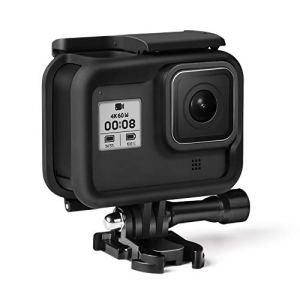 Kupton Cadre pour GoPro Hero 8 Boîtier Coque de Protection Protectrice pour GoPro Hero 8 avec Prise et vis Mobiles Amovibles