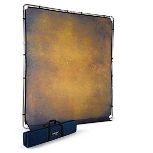 Lastolite by Manfrotto Fond EzyFrame Vintage 2 x 2,3 m (Coloris Olive)