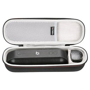 LTGEM EVA Étui Rigide Sac de Rangement de Voyage pour Beats by Dr. Dre Pill+Enceinte Portable Haut-Parleur Speaker.Compatible avec câble USB et Chargeur Mural.
