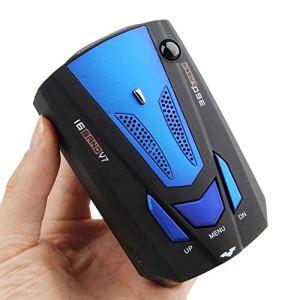 MASO 2019 Nouveau Détecteur de radar de voiture 360 degrés V7 GPS Police Sécurité Voice Alert 16 bandes