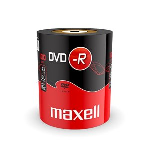 Maxell DVD-R 4.7GB 100 Pack