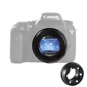 MICNOVA MQ-7X capteur Loupe avec Poussière éclairante Bright LED de pour Canon Nikon Sony Gopro Olympus Pentax DSLR SLR Caméra Caméscope
