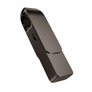 Monland Extension de TéLéPhone D'Enregistrement StéRéO Teyp-C, Enregistreur NuméRique Portable à Disque U, Adapté à L'Apprentissage en ConféRence