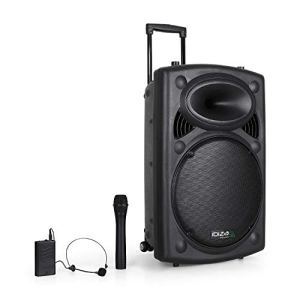 Public Adress mobile MP3 800W + 2 mic PORT15VHF-N