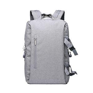 QinWenYan Sac pour Appareil Photo Outdoor Laptop Tablet Voyage Sac étanche Caméra Durable Sac à Dos (Color : Gray, Size : One Size)