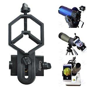 Solomark Adaptateur téléphonique universel et support trépied – Caméra Télescope microscope/télescopique//Jumelles