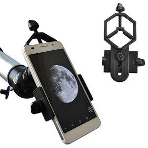 Solomark Solomarks smartphone adaptateur universel Digiscoping Adapter pour télescope, monoculaire, microscope, jumelles – pour diamètre de 28 mm à 47 mm