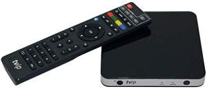 TVIP S-Box v.501 IPTV HEVC Full HD Android/Linux Multimedia Stalker Interner IP TV Streamer 512MB RAM + 8GB eMMC, MicroSD Card, EXT.IR, 2,4 GHz Wi-FI avec câble HDMI