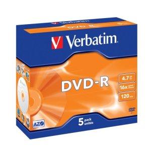 Verbatim DVD-R x 5 4.7 Go