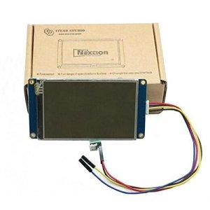 Bluelover 3.5 Pulgadas 480X320 Nextion Nx4832T035 Hmi Tft Lcd Módulo De Pantalla Táctil Pantalla Táctil Resistiva Para Raspberry Pi 3 Arduino Kit