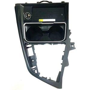 Chargeur sans fil de voiture, plaque de charge 10W QI panneau de changement de vitesse accessoires de support de tasse d'eau dédié pour F30 F31 F32 F33 F34 F35 F36,4series