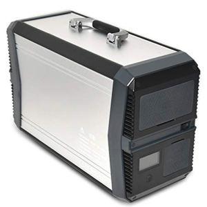CHRYS Générateur Solaire 1010Wh, générateur d'énergie Solaire, Batterie Solaire rechargée par Panneau Solaire/Prise Murale/Voiture AC220V, USB5V, DC12V, Sac à Dos Solaire pour Ordinateur