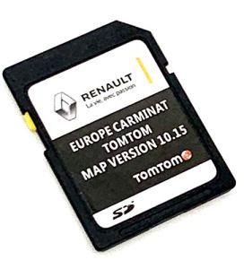 Dernière carte SD pour Renault Tom Tom 2020 SD Card Version 10.15 – Compatible avec toute l'Europe – MEGANE, CLIO, LAGUNA, SCENIC, KANGOO, FLUENCE ESPACE, TRAFFIC, MASTER, MASCOTT, KOLEOS
