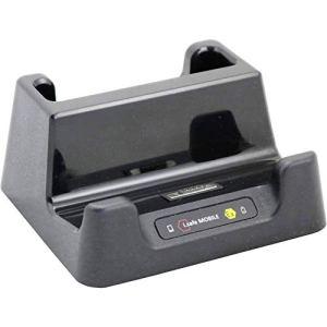 i.safe MOBILE Station daccueil pour téléphone Portable Desk Charger 52010044 USB-C™ Noir