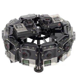 12 en 1 boîtier en Alliage d'aluminium CNC Shell Cage de Protection avec vis for GoPro HERO4 / 3 +, Compatible avec Les caméras d'action (Color : Black)