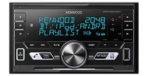 Kenwood DPX de M3100bt Double DIN Digital Media Récepteur Bluetooth avec mains libres et Apple iPod de contrôle Noir