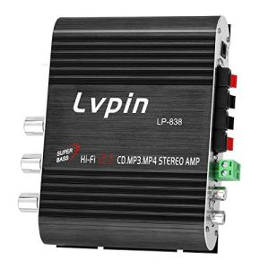 KTOO Mini HIFI Audio Amplificateur de puissance stéréo Subwoofer MP3 autoradio canaux 2 ménage super basse lvpin 838