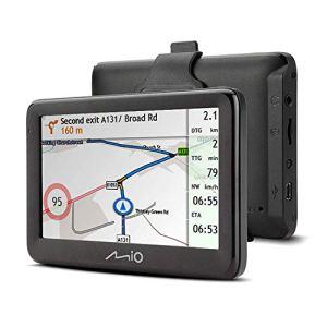 Mio Spirit Pilot 15Sat Système de Navigation avec mises à Jour de Carte à Vie et Voie