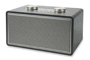 Rock Haut-Parleur Radio Bois 80 W écru