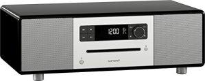 Sonoro sonoroSTEREO Système d'audio stéréo Bluetooth/CD/USB/FM/DAB+ Noir