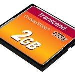 Transcend 2 Go Carte Mémoire CompactFlash (CF) UDMA 4 133x TS2GCF133