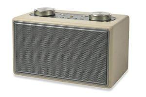 Twist Speaker Radio Cuir 40 W écru