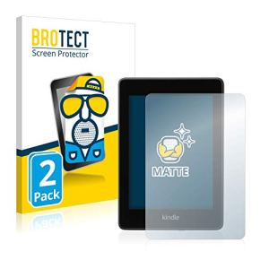 brotect Protection Ecran Anti-Reflet Compatible avec Amazon Kindle Paperwhite 2018 (10ème génération) (2 Pièces) – Film Protection Ecran Mat