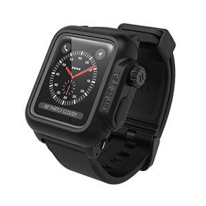Catalyst CAT-42WAT3-BLK – Coque Anti-Choc Étanche Pour Apple Watch 42mm Series 3 & Series 2 (Noir Mat)