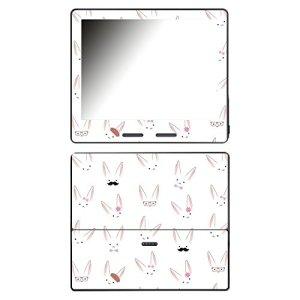 'DISAGU SF de 107162_ 954Design d'écran pour Amazon Kindle Oasis Motif Lapin Visages Transparent