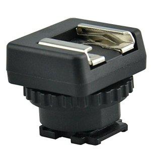 JJC MSA-MIS Cold Shoe Flash monter adaptateur – pour Sony Handycam avec Multi Interface Shoe