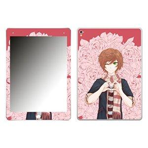 'DISAGU SF de 106966_ 1066Design d'écran pour Apple iPad Pro, Motif Manga Boy Cœur Geste de Roses, Transparent