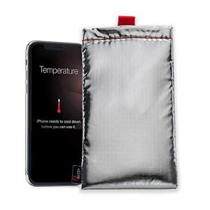Phoozy – Plus Housse de Protection Thermique pour Smartphone – Protège contre le Soleil, la Neige, la Chaleur et le Froid – Housse de Protection Flottante – Accessoires Smartphone
