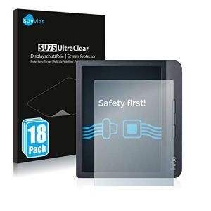 savvies Protection Ecran Compatible avec Kobo Libra H2O (18 Pièces) – Film Protection Ultra Clair