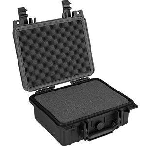 TecTake Valise Etanche pour Appareil Photo Coffret de Protection Universel Caméra + 3 Mousses Noir – Diverses Tailles – (Type 1 | n° 402869)