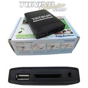 USB SD MP3AUX changeur CD Adaptateur SDHC pour Radio d'origine Goldwing GL1800