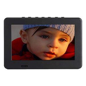 VBESTLIFE 7 Pouces DVB-T-T2 Télévision Numérique Analogique TV Portable de Résolution 800×480