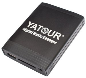 Yatour YTM06-HON2F Changeur de Musique pour Voiture Adaptateur SD MP3 AUX USB CD Système stéréo pour Honda Goldwing