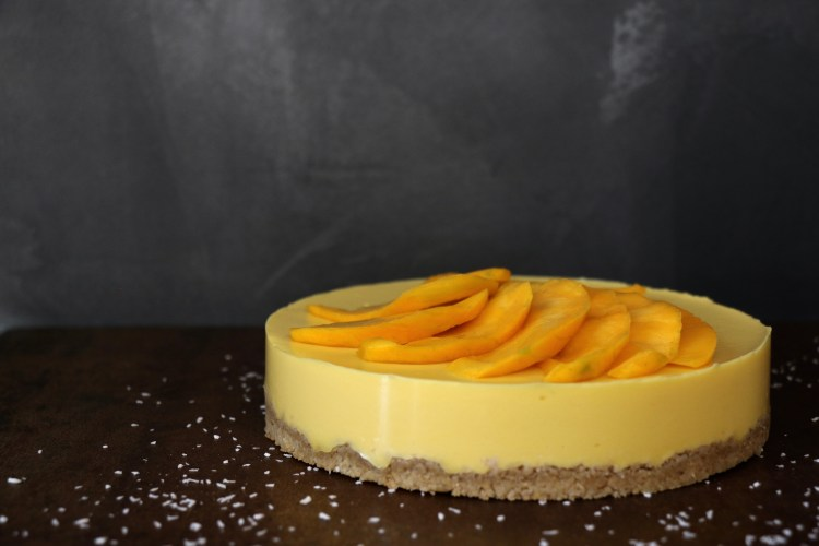 cheesecake mangue léger IG bas