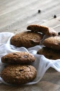 Délicieux cookies IG bas chocolat