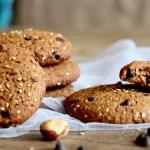 Délicieux cookies IG bas chocolat gourmands