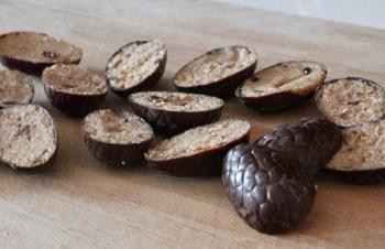 chocolats fourrés pralinés démoulés