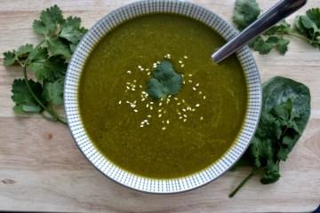 Soupe détox au kale
