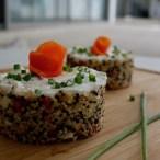 Tartare de quinoa