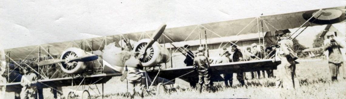 Caudron G4 pendant la 1ere Guerre mondiale